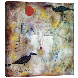 Paul Klee - Crow Landscape, 1925