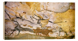 Wood print  Cave of Lascaux