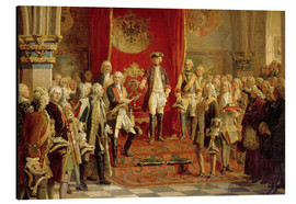 Aluminium print  The Silesian estates homage to Frederick the Great in Wroclaw - Wilhelm Camphausen