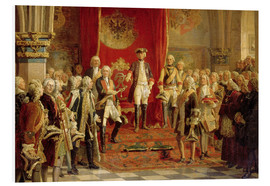 Forex  The Silesian estates homage to Frederick the Great in Wroclaw - Wilhelm Camphausen
