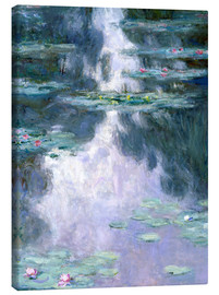 Canvas print  Water Lilies - Claude Monet