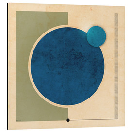 Phil Perkins - Earth And Moon Graphic