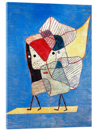 Acrylic glass  Twins - Paul Klee