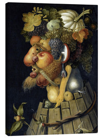 Canvas print  The Autumn - Giuseppe Arcimboldo