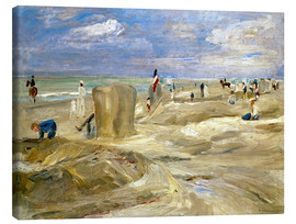 Canvas print  Beach in Noordwijk - Max Liebermann