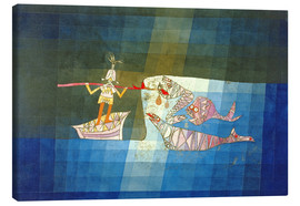 Canvas  Sinbad the Sailor - Paul Klee
