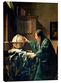 Canvas print  The Astronomer - Jan Vermeer
