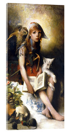Acrylic print  The witch's daughter - Carl Larsson