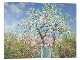Claude Monet - The gates in Vetheuil