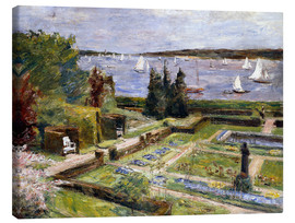 Canvas print  The Arnholds' Wannsee garden - Max Liebermann