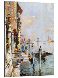 Aluminium print  The Grand Canal, Venice - Franz Richard Unterberger