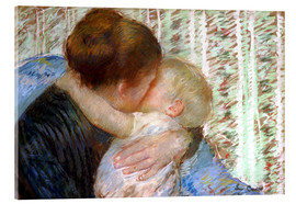 Acrylic print  The Goodnight Kiss - Mary Stevenson Cassatt