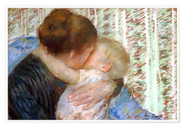 Mary Stevenson Cassatt - The Goodnight Kiss