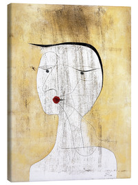 Canvas  Sealed Lady - Paul Klee