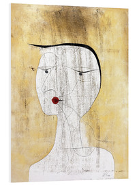 Foam board print  Sealed Lady - Paul Klee