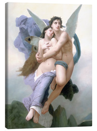 Canvas print  Abduction of Psyche - William Adolphe Bouguereau