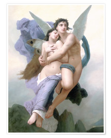 Premium poster  Abduction of Psyche - William Adolphe Bouguereau