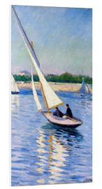 Forex  Sailboat on the Seine at Argenteuil - Gustave Caillebotte
