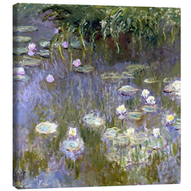 Canvas  Water Lilies - Claude Monet