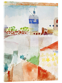 Acrylic glass  Hammamet with the mosque, 1914 - Paul Klee