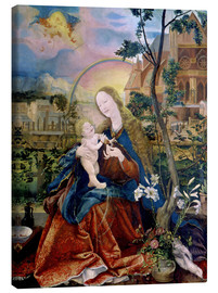 Canvas print  The Stuppacher Madonna. Around 1520 - Matthias Grünewald