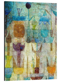 Alu-Dibond  Plants early in the morning - Paul Klee