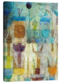 Canvas  Plants early in the morning - Paul Klee