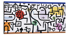 Aluminium print  Rich Harbour - Paul Klee