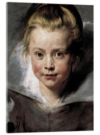Peter Paul Rubens - Head of a child (Clara-Serena Rubens)