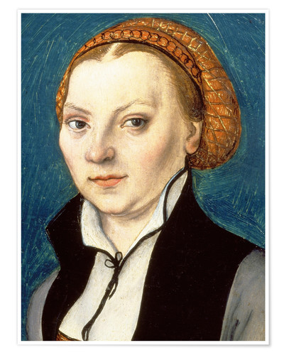 Premium poster Katharina von Bora, wife of Martin Luther