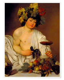 Premium poster The Young Bacchus