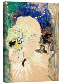 Canvas print  The wheel - Henri de Toulouse-Lautrec