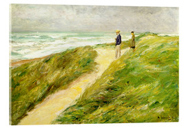 Acrylic print  On the beach of Katwijk - Max Liebermann