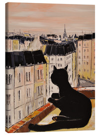 Canvas print  Tomcat in Paris - JIEL