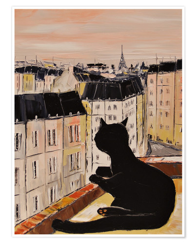 Poster Tomcat in Paris