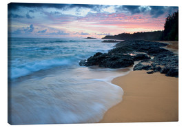 Canvas print  Kauai at dawn - Dennis Flaherty