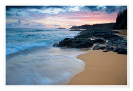 Premium poster  Kauai at dawn - Dennis Flaherty