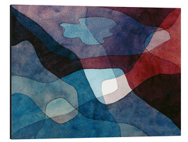 Alu-Dibond  Mountain and Air Synthetic - Paul Klee