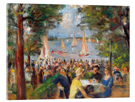 Acrylic glass  Beer garden on the Havel river - Max Liebermann