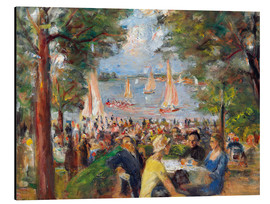 Aluminium print  Beer garden on the Havel river - Max Liebermann
