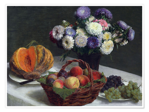 Premium poster Flowers & Fruits