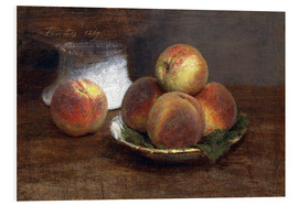 Forex  Bowl with Peaches - Henri de Fantin-Latour