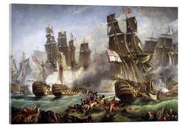 Acrylic print  The Battle of Trafalgar