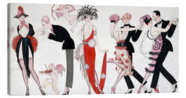 Canvas print  Tango - Georges Barbier