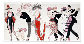 Poster  Tango - Georges Barbier