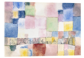 Acrylic glass  New district - Paul Klee