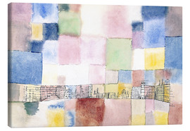 Canvas  New district - Paul Klee