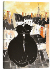 Canvas  Cats love - JIEL
