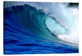 Canvas print  Big blue wave - Paul Kennedy
