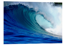 Foam board print  Big blue wave - Paul Kennedy